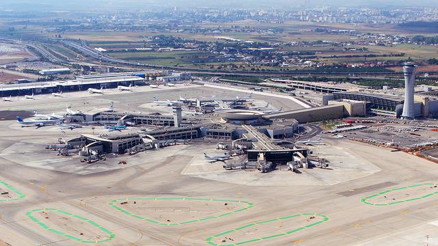 A view from Tel Aviv Ben Gurion International Airport