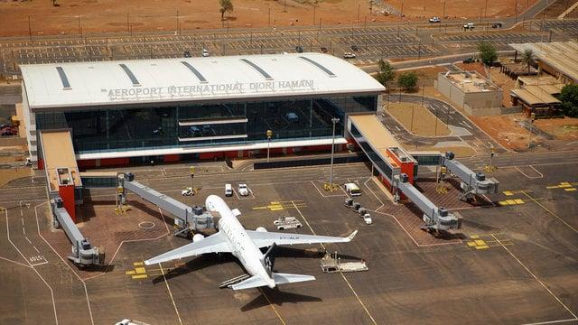 A view from Niamey Diori Hamani International Airport