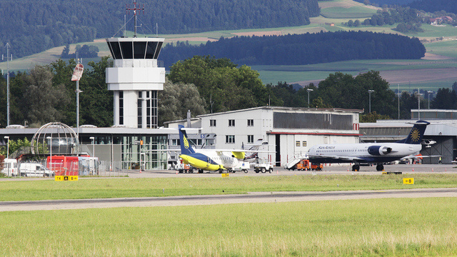 A view from Bern Airport