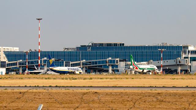 A view from Bari Karol Wojtyla Airport