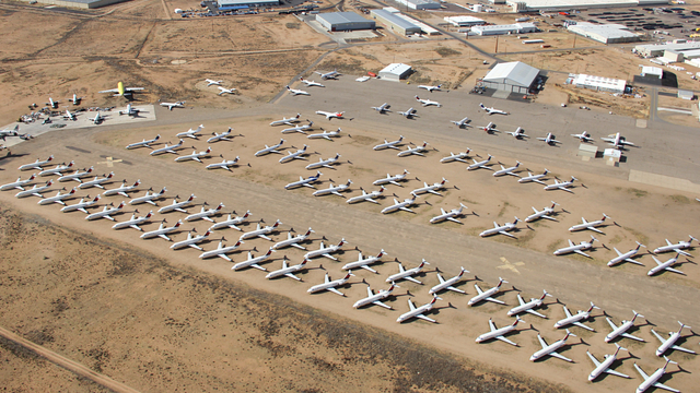 A view from Kingman Airport