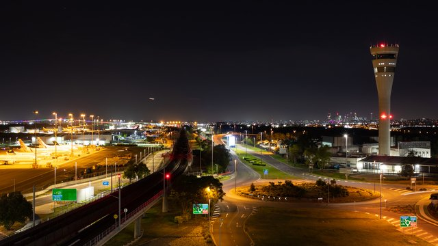 A view from Brisbane Airport