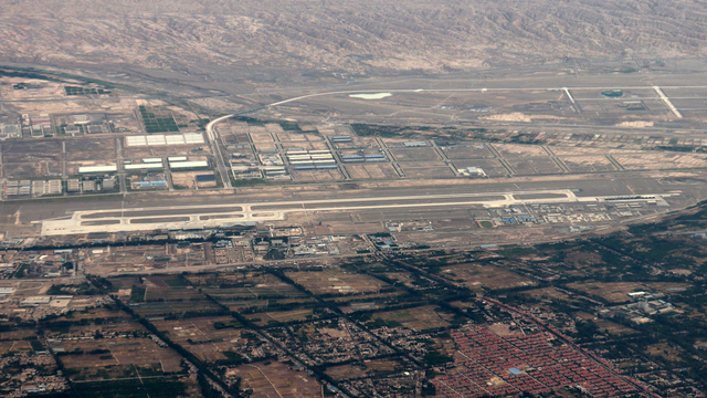 A view from Kashgar Airport