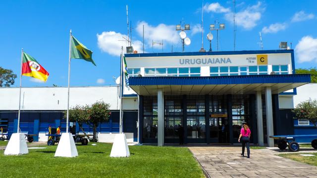 A view from Uruguaiana Ruben Berta International Airport