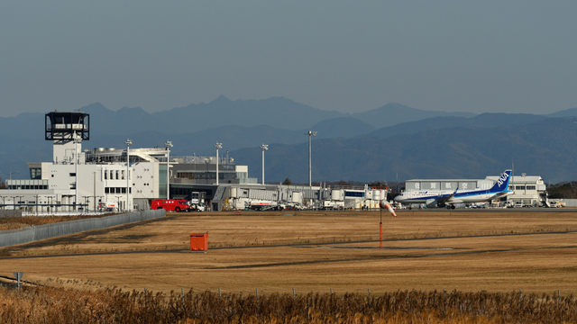 A view from Saga Airport