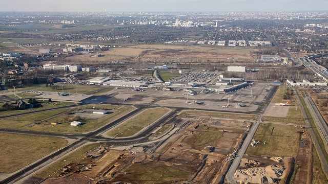 A view from Berlin Schonefeld Airport