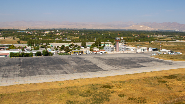 A view from Urmia Airport