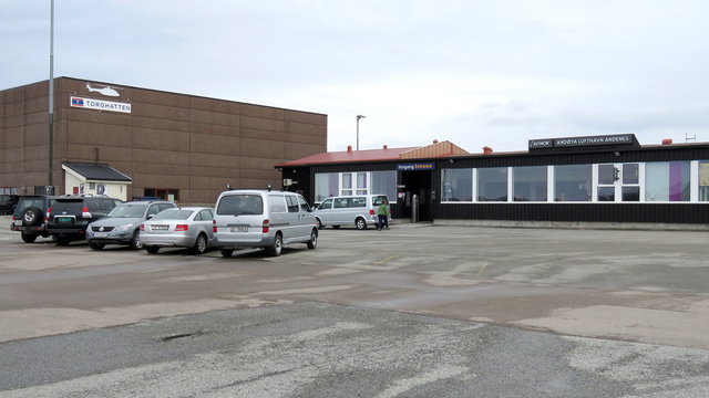A view from Andenes Andoya Airport