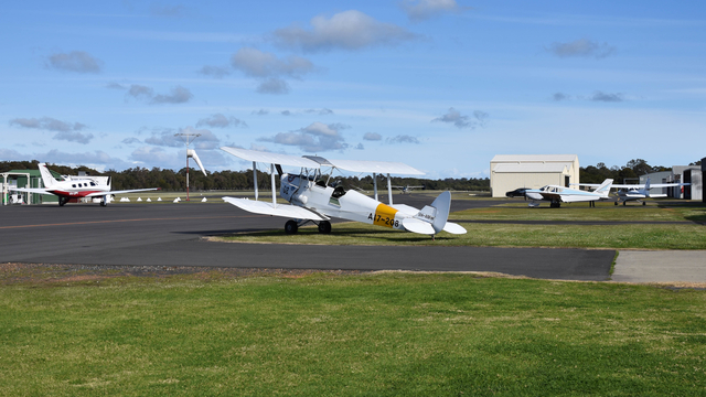 A view from Bunbury Airport