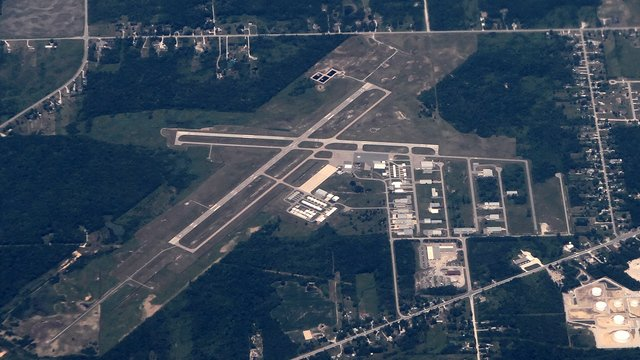 A view from Port Huron St. Clair County International Airport