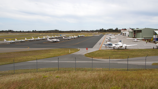 A view from Perth Jandakot Airport