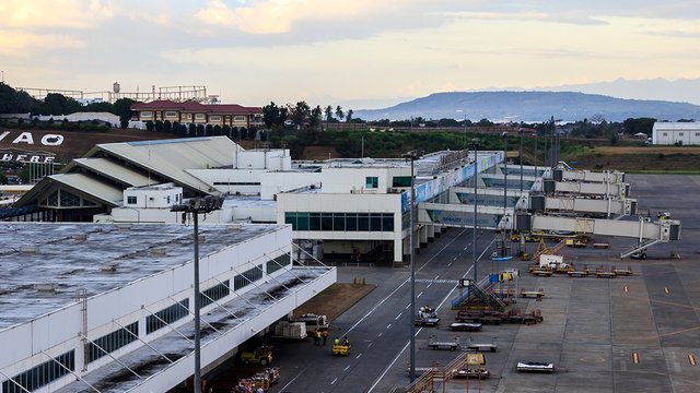 A view from Davao City Francisco Bangoy International Airport