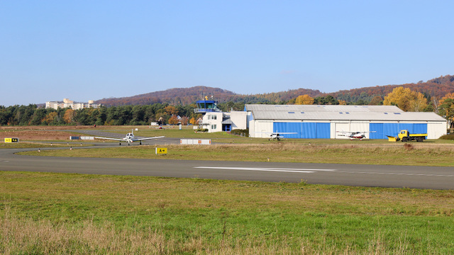 A view from Bielefeld Airport
