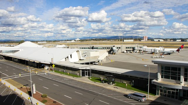 A view from Spokane International Airport
