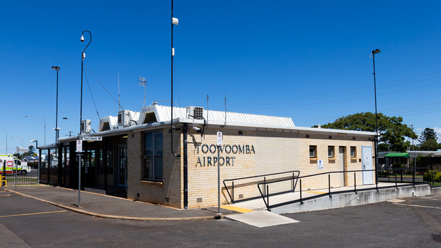 A view from Toowoomba Airport