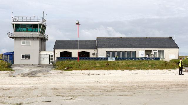 A view from Barra Airport