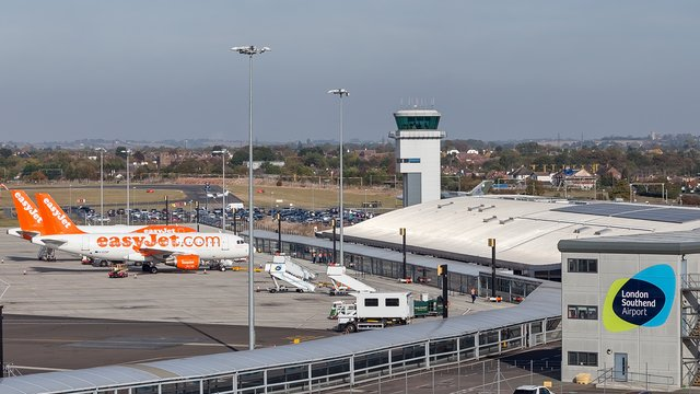 A view from London Southend Airport