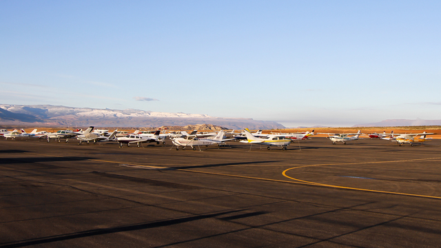 A view from St. George Regional Airport