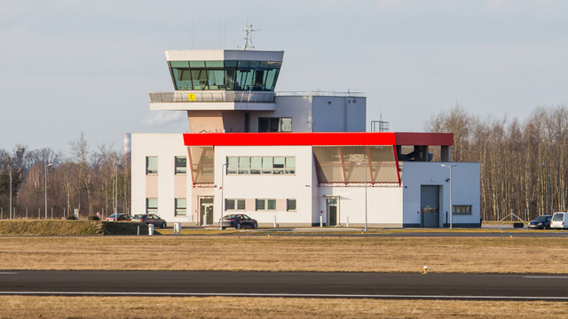 A view from Mielec Airport