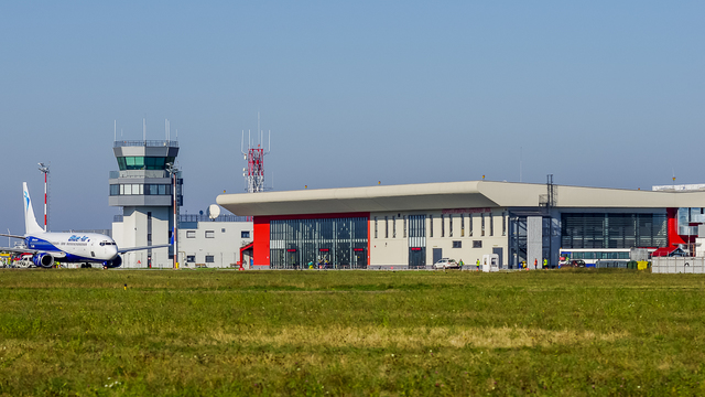 A view from Bacau International Airport