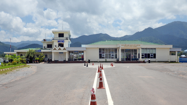 A view from Muang Xay Oudomsay Airport
