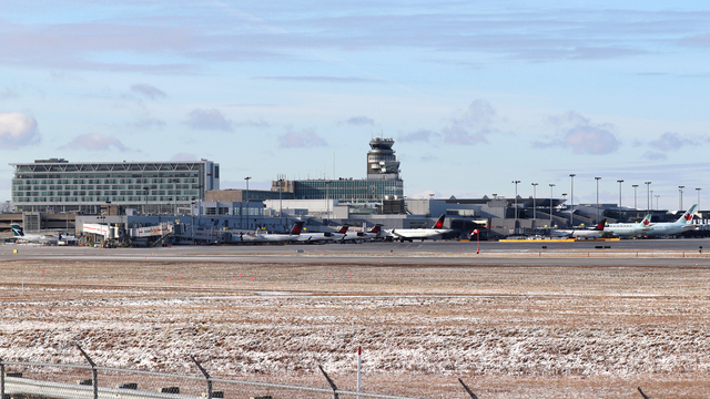 A view from Montreal Pierre Elliott Trudeau Airport
