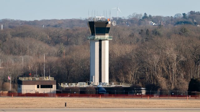 A view from Providence Theodore Francis Green Airport