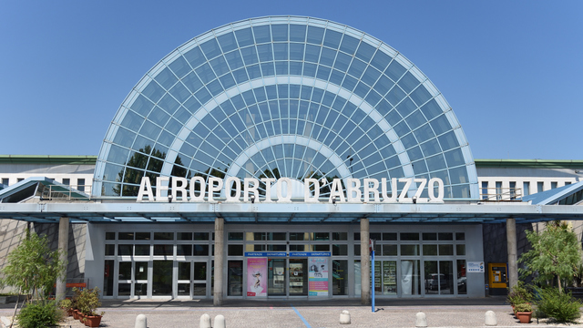 A view from Pescara Abruzzo International Airport