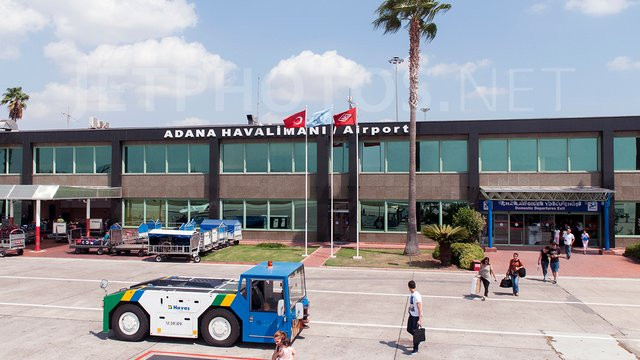 A view from Adana Sakirpasa Airport