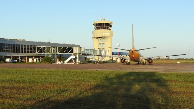 A view from Corrientes International Airport
