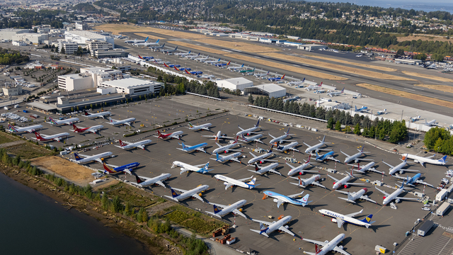 A view from Seattle Boeing Field