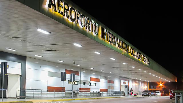 A view from Porto Velho International Airport