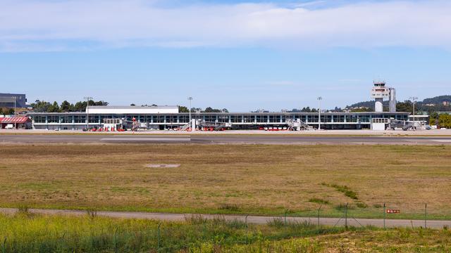 A view from Vigo-Peinador Airport