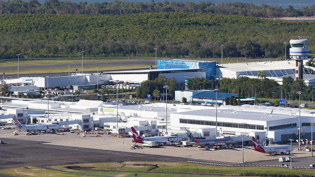 A view from Cairns Airport