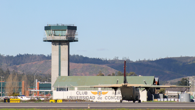 A view from Concepcion Carriel Sur International Airport