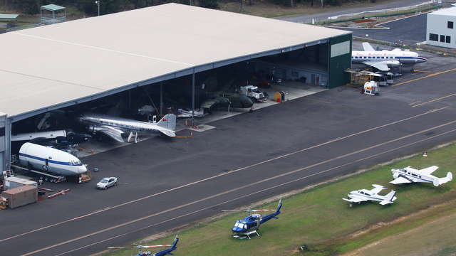 A view from Wollongong Illawarra Regional Airport