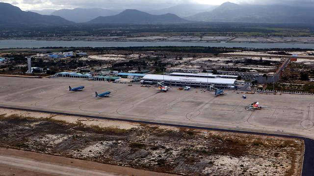A view from Nha Trang Cam Ranh International Airport