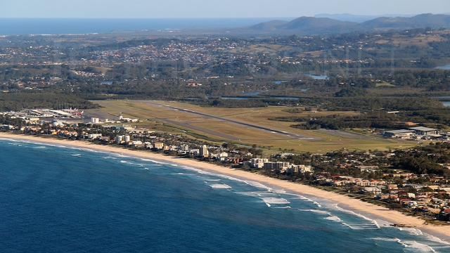 A view from Gold Coast Airport