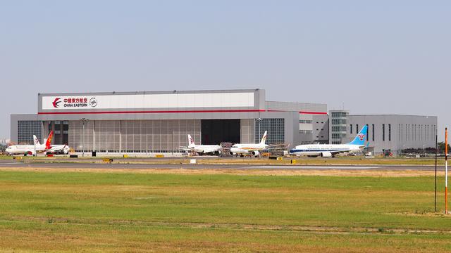 A view from Xi'an Xianyang International Airport