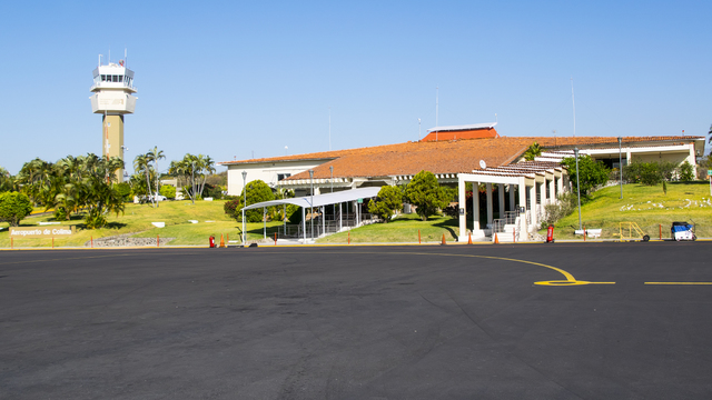 A view from Colima Airport