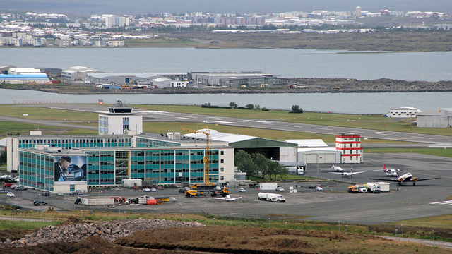 A view from Reykjavik Airport