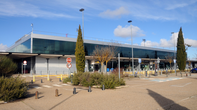A view from Valladolid Airport