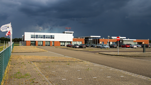 A view from Budel Kempen Airport