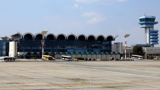 A view from Bucharest Henri Coanda International Airport