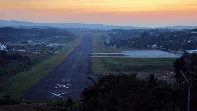 A view from Port Blair Veer Savarkar International Airport