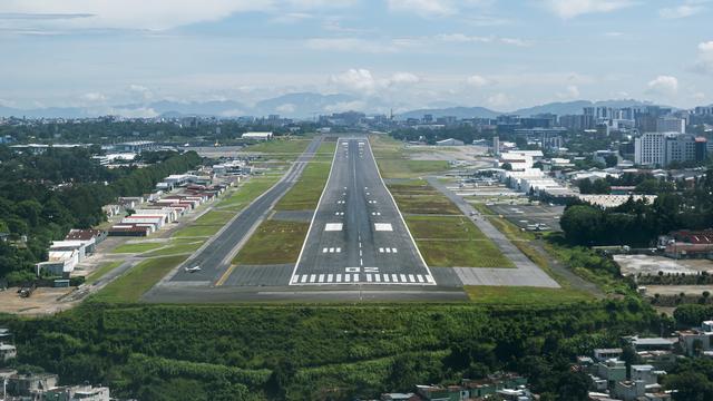 A view from Guatemala City La Aurora International Airport