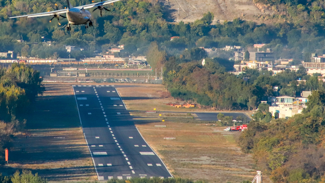 A view from Gilgit Airport