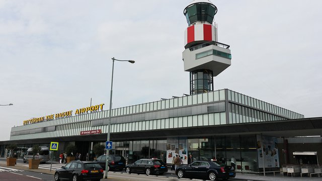 A view from Rotterdam The Hague Airport