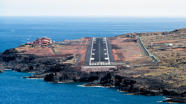A view from El Hierro Airport