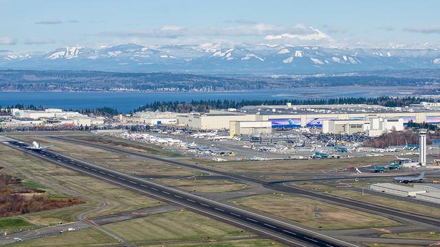 A view from Everett Paine Field
